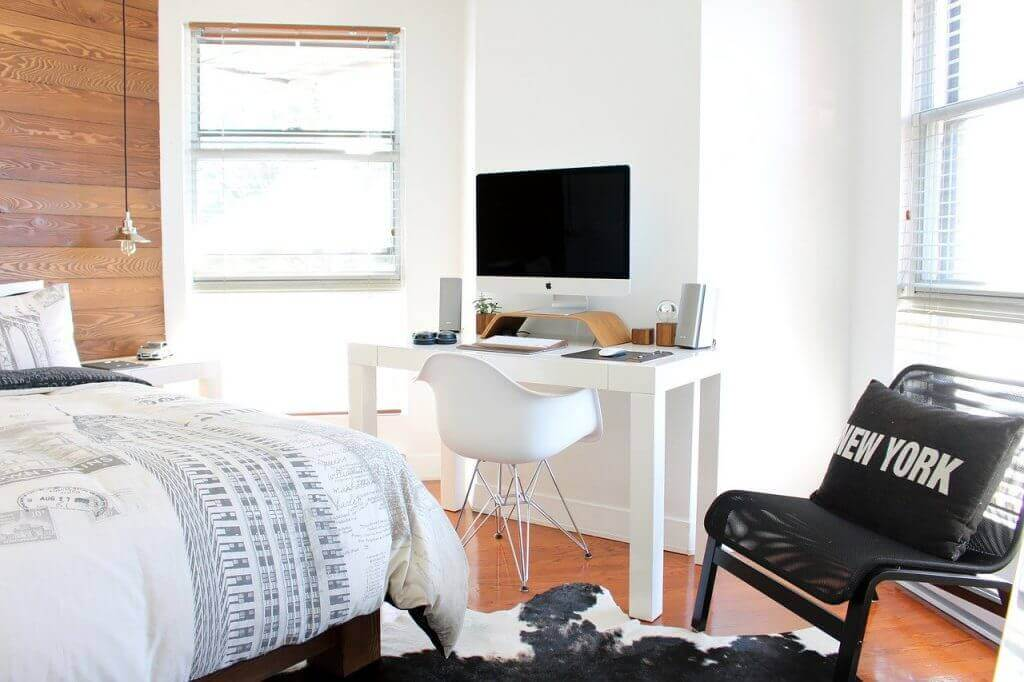 short term rental room
