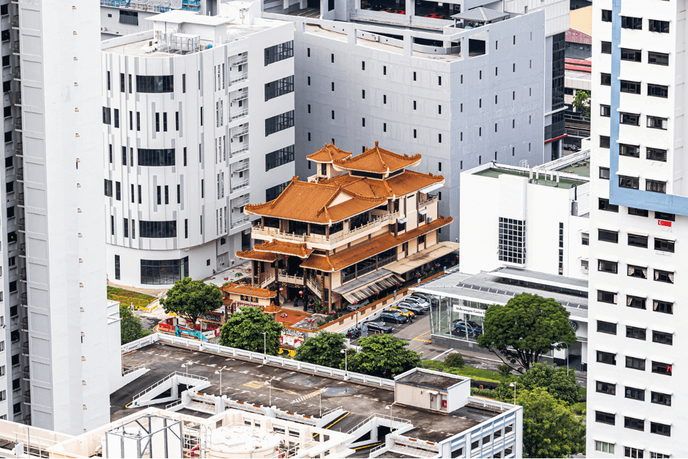 adaptive reuse temple in singapore